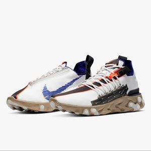 Nike ISPA React Low Summit White